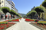 The freedom avenue in Braga