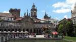 The republic square in Braga